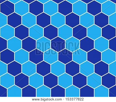 Abstract Background Blue Mosaic