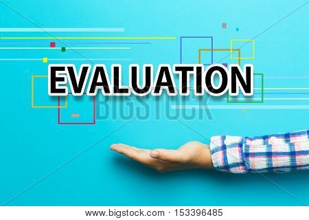 Evaluation Concept With Hand