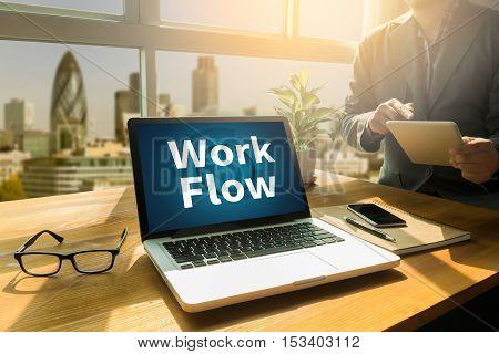 Work Flow, Working Work  Step Planning ,process System