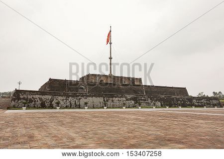 Flag Tower Imperial City Hue