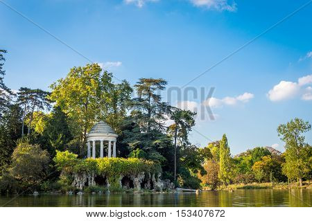 Temple Of Love In The Vincennes Forest