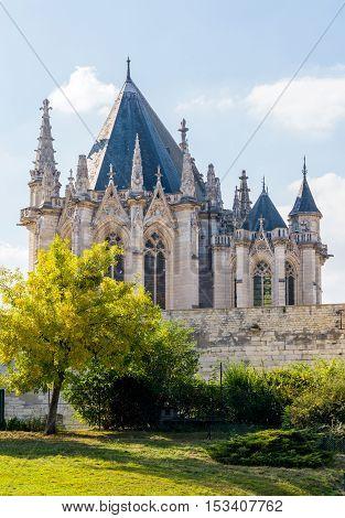 The Vincennes Castle In Paris, France