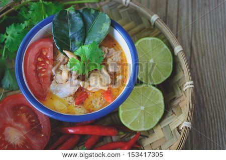 Tom Yum Kai, Thai Spicy Chicken Soup Thai Cuisine Thai Food Spicy Soup