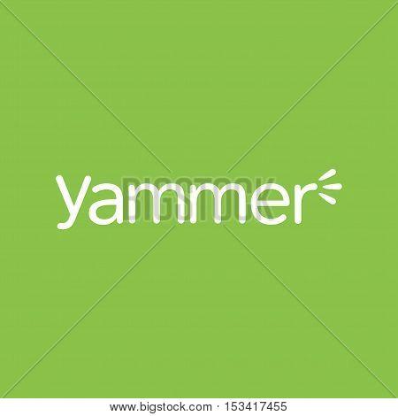 Yammer Logo Media Vector Photo Free Trial Bigstock