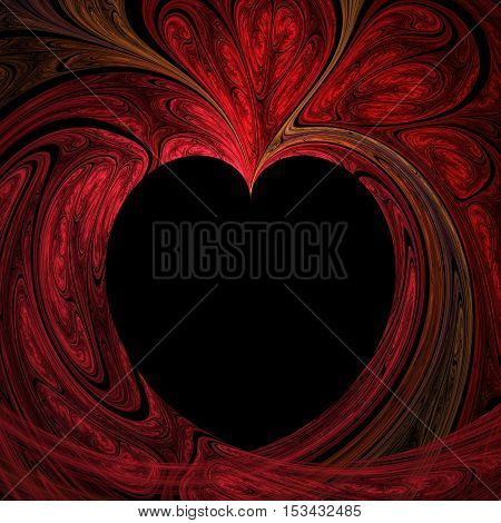 Abstract Crazy Heart