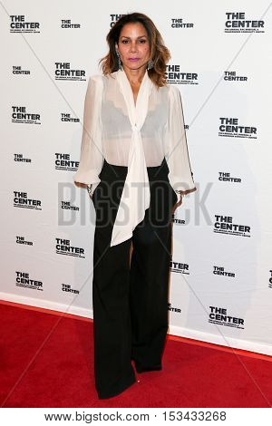 NEW YORK-APR 2: Actress Daphne Rubin Vega attends attends the 2015 Center Dinner at Cipriani Wall Street on April 2, 2015 in New York City,