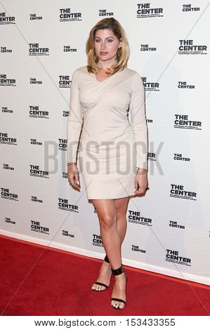 NEW YORK-APR 2: Trace Lysette attends the 2015 Center Dinner at Cipriani Wall Street on April 2, 2015 in New York City.