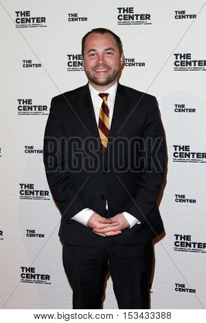 NEW YORK-APR 2: Actor Corey Johnson attends the 2015 Center Dinner at Cipriani Wall Street on April 2, 2015 in New York City.