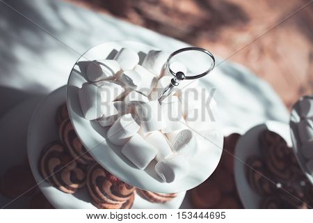 Plate With Sweets