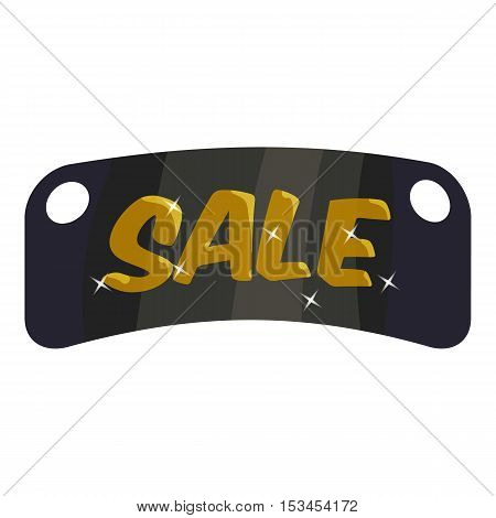 Tag sale icon. Cartoon illustration of tag sale vector icon for web