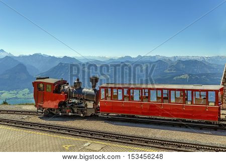 Schafberg Railway is a metre gauge cog railway leading from Sankt Wolfgang im Salzkammergut up to the Schafberg (1783 m) Austria