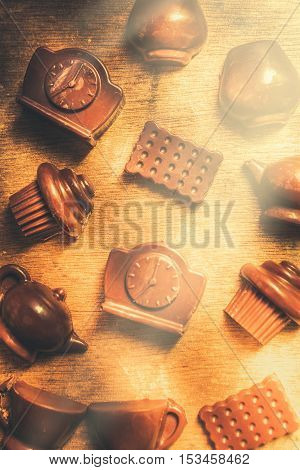 Chocolate Cafe Background
