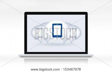 Digital Device Eletronics Equipment Technology Concept