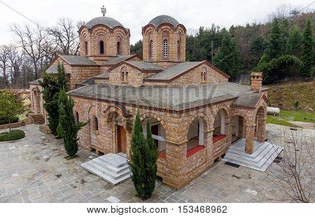 St. Dionysios Monastery near Litochoro, Macedonia, Greece