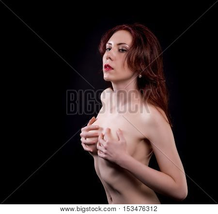 Red Hair Nude Woman
