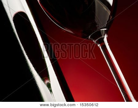 Red wine background