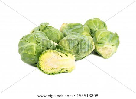 Brussels Sprouts With Half