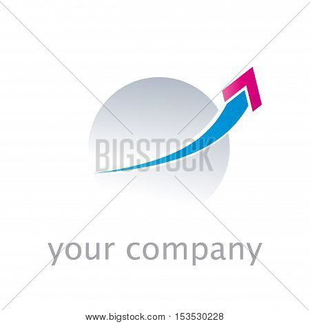 Vector sign output. Shipments and exports isolated ilustration