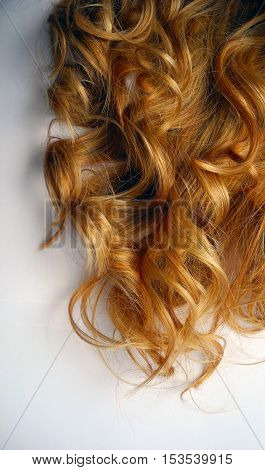 Women's ringlets of color