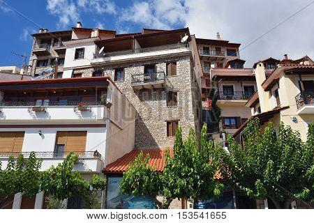 Arachova Village In Greece
