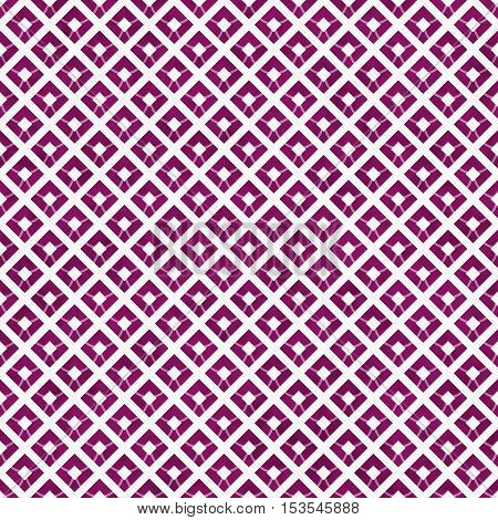 Pink and White Diagonal Squares Tiles Pattern Repeat Background that is seamless and repeats