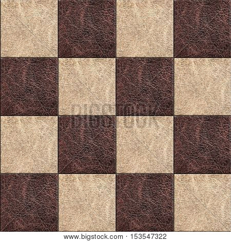 the decorative finishing old leather seamless texture