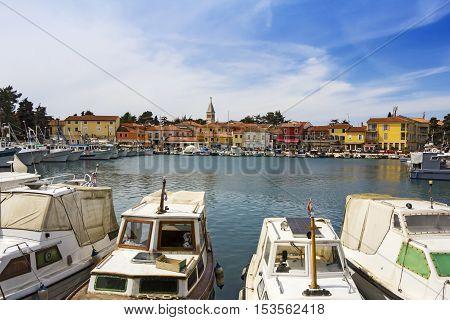 Novigrad the old Istrian town in Croatia