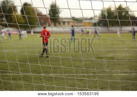 Goalkeeper In The Football Match