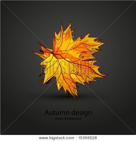 Abstract autumn design