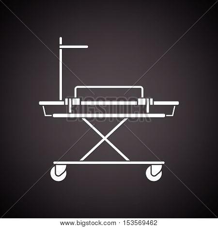 Medical Stretcher Icon