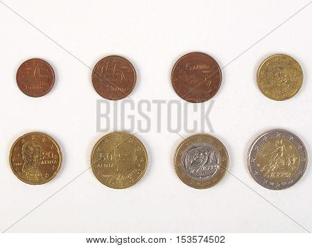 Euro Coins Full Range