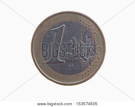 One Euro (eur) Coin