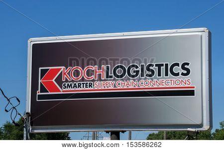 Koch Logistics Sign And Logo