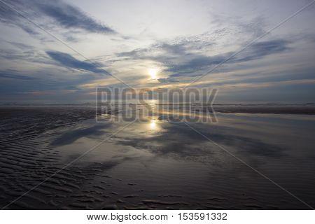 Sunrise at Hua Hin,Prachuap Khiri Khan Province,Thailand