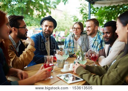 Hangout of friends
