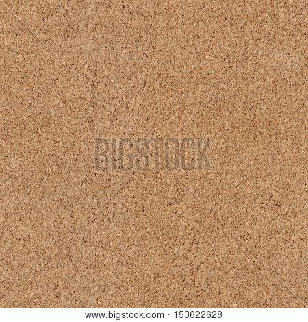 Seamless cork texture. Background for corkboard, bulletin board, underlay for floor
