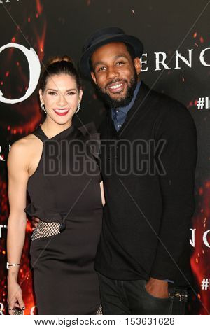 LOS ANGELES - OCT 25:  Allison Holker, Stephen Boss at the