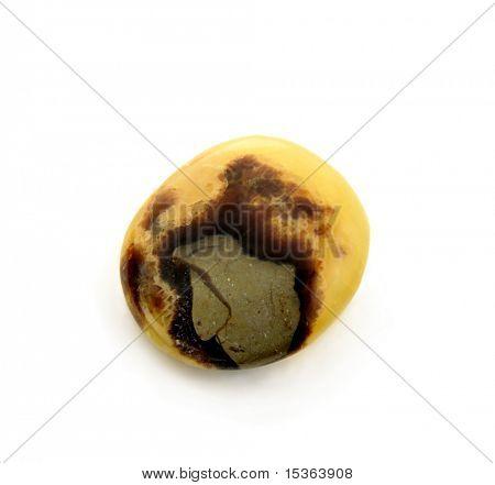 Septarian - polished gemstone from Madagascar poster