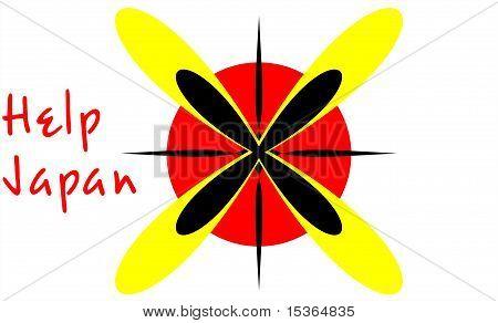 Help for Japan danger sign