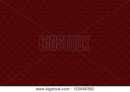 Red Chinese Seamless Pattern Dragon Fish Scales Simple Seamless Pattern Nature Background With Japan