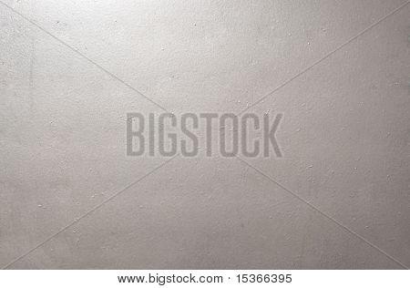 Texture metallo grigio liscio. Copertura di una tabella.