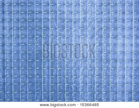 Blue opaque glass texture or background.
