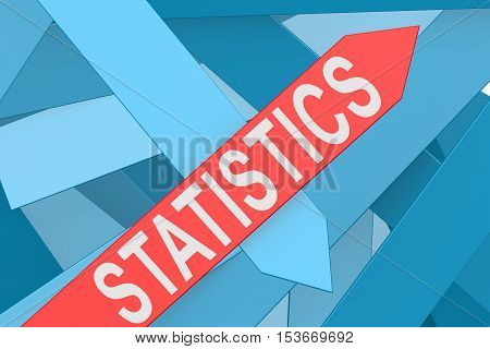Statistics Arrow Pointing Upward