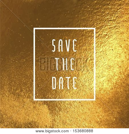 Save The Date Vector Illustration For Cards