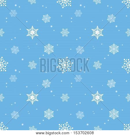 snowflake blue colour background christmas pattern tint layer wallpaper