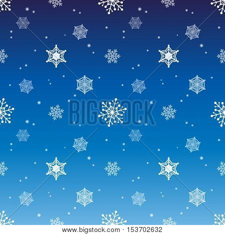 snowflake gradient blue colour background christmas pattern tint layer wallpaper