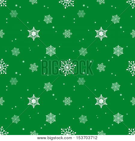 snowflake green colour background christmas pattern tint layer wallpaper