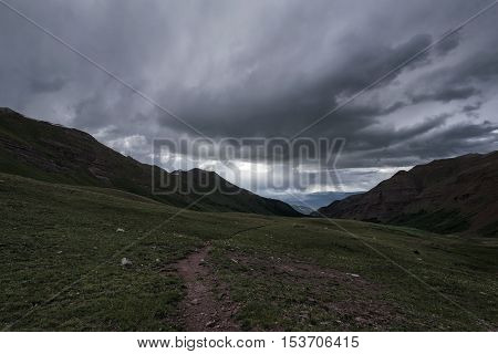 Landscape In The Rocky Mountains, Maroon-snowmass Wilderness