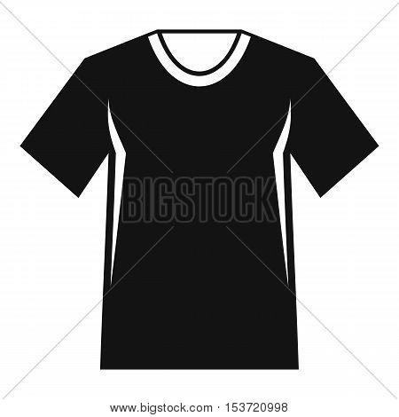 Men tennis t-shirt icon. Simple illustration of men tennis t-shirt vector icon for web