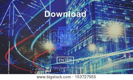 Download Online Website Technology Concept